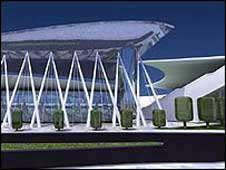 Artist's impression of the redeveloped ground