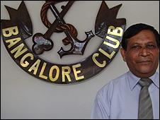 Bangalore Club Secretary Col Krishnan Dakshina Murthy