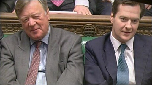 Ken Clarke and George Osborne