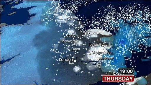 Weather+forecast+map+england