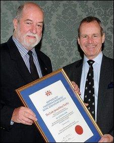 Gordon Cook and Sir Jeremy de Halpert