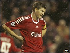 Steven Gerrard, captain of Liverpool FC