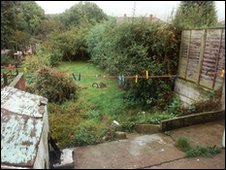 Overgrown garden