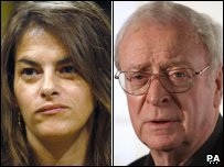 Tracey Emin and Michael Caine