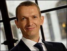 Andy Haldane, Bank of England executive director, picture from Bank of England