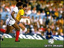 England's John Barnes