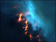Eruption (NSF/NOAA)