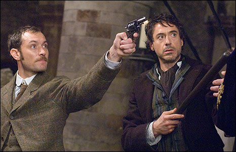 Jude Law and Sherlock H