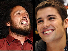 Rage Against The Machine and Joe McElderry