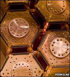 Detectors made of crystalline silicon and germanium are designed to detect heat deposits left behind by dark matter particles