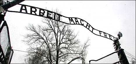 Arbeit Macht Frei sign