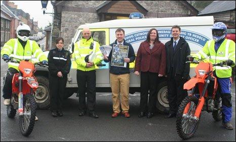 The multi-agency off-roading team