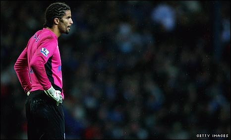 Portsmouth goalkeeper David James