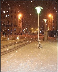 Snow in Hove [pic by Kat Locke]