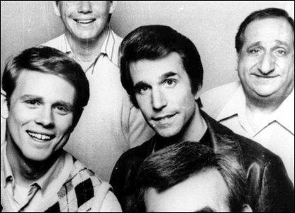 The Happy Days cast