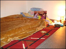 Aminatou Haidar's room