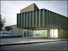 Nottingham Contemporary by Andy Taylor Smith