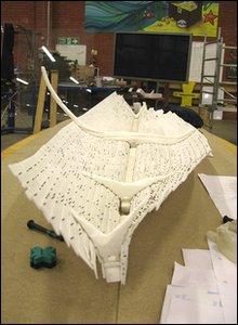 Newport ship model