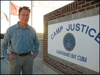 Michael Portillo at Camp Justice, Guantanamo Bay Detention Facility