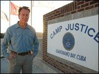 Michael Portillo at Camp Justice, Guantanamo Bay Detention Facility