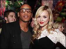 Reggie Yates and Fearne Cotton