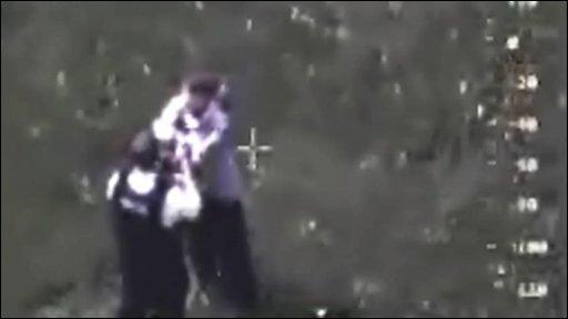 Hannah Saaf arrest footage