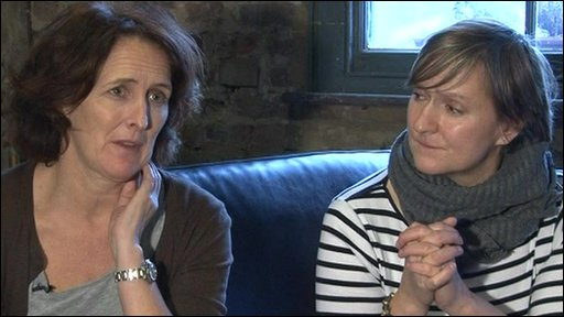 Fiona Shaw (left) and Deborah Warner (right)