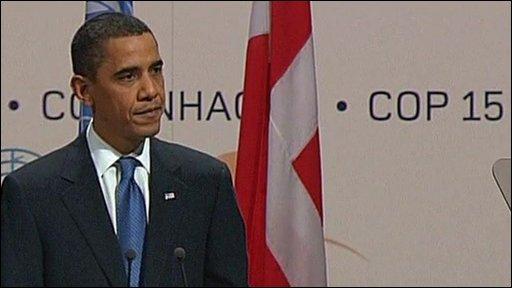 President Obama at Copenhagen