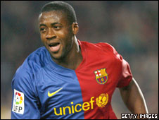Ivory Coast and Barcelona's Yaya Toure