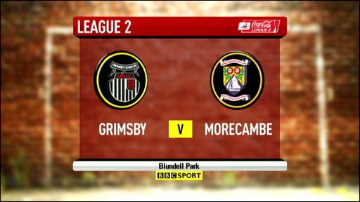 Grimsby 1-1 Morecombe