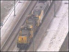A rescued train