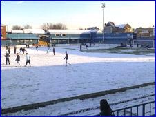 Snowbound Grays pitch