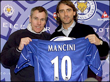 Former Leicester boss Peter Taylor signed Mancini for the Foxes in 2001