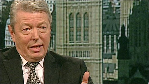 Home Secretary Alan Johnson on The Andrew Marr Show