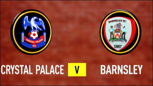 Crystal Palace 1-1 Barnsley