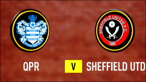 QPR 1-1 Sheffield United