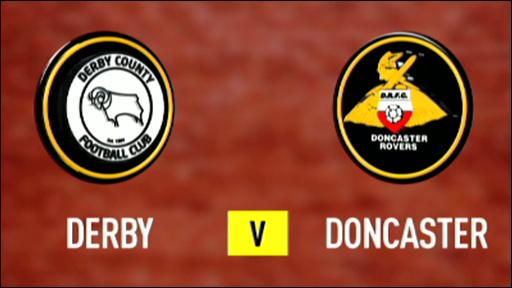 Derby 0-2 Doncaster