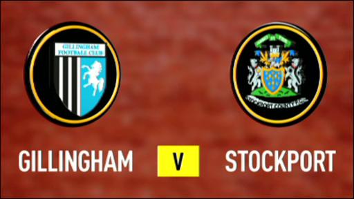Gillingham 3-1 Stockport