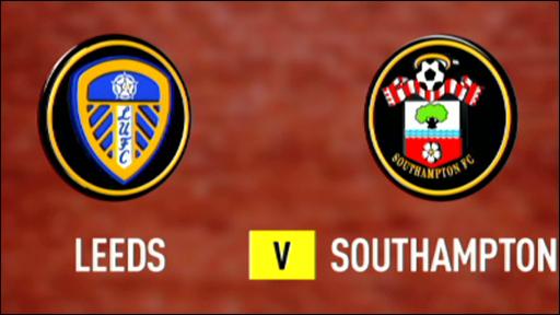 Leeds 1-0 Southampton