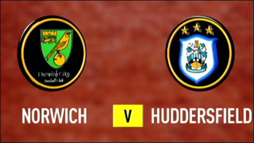 Norwich v Huddersfield