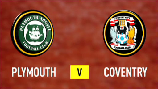 Plymouth 0-1 Coventry