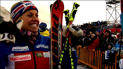 Britain's Chemmy Alcott