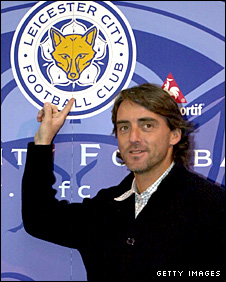 Roberto Mancini signing for Leicester