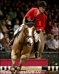 British show jumper Ellen Whitaker