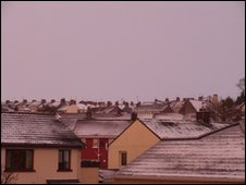 Snow in Derry