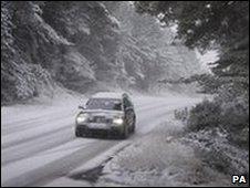 Snowy road - generic