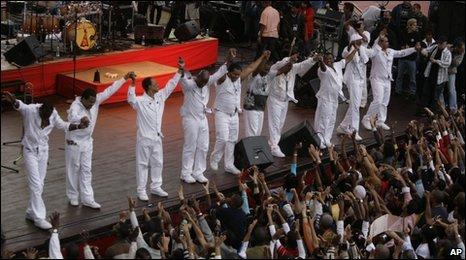 Kool & the Gang in Havana