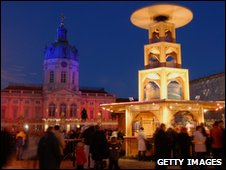 Berlin sweet-laden Christmas market