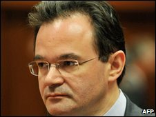 Georgios Papaconstantinou, file pic from 2 December 2009