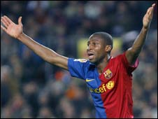 Mali and Barcelona's Seydou Keita